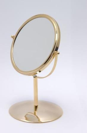 make up mirror round 18 cm